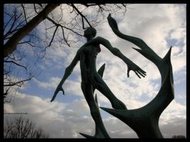 Tormented Statue by LotusGrisDesign