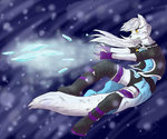 Contest entry - Jade the Arctic Wolf by ClarityWind