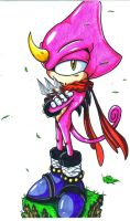 Espio the chameleon CL by trunks24