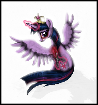 I do not want those wings... by VileRaven