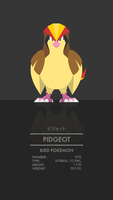 Pidgeot by WEAPONIX