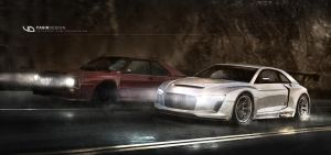 quattro concept Effects by yasiddesign