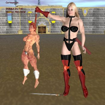 Val: Enema in the Arena by cartman666x