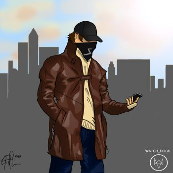 Aiden Pearce by jcurr87