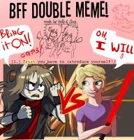 BFF DOUBLE MEME 1 by Spikie