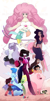The Crystal Gems by SoniaMatas