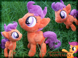 My little Pony - Scootaloo Plushy by SakuSay