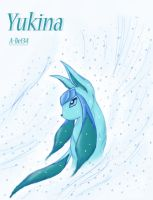 Yukina the Glaceon by AlieMey