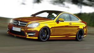 Mercedes-Benz C350 Coupe '11 by HAYW1R3