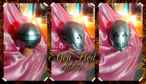 Elfen Lied Helmet Commission by SuspiciousTumbleweed