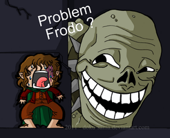 Frodo and the Troll by Doku-Sama