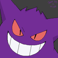 Gengar - In the Shadows by stardroidjean