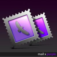 Mail X Purple by JamesRandom