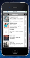 iDeviant app ... new version - art list by rafiki270