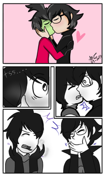 IZ ZaDr- Problem of kissing? by AndreaChavez by Z-A-D-R