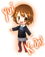 Yui: K- On by CamiIIe