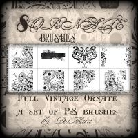 Full Vintage Ornate by Diamara