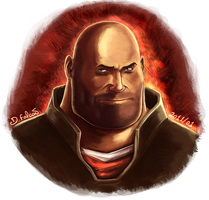 Team Fortress - Heavy by Psamophis