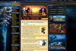 Gav on WoW main page by GAVade