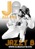 Jazzy B Publicity Flyer by vitaminv