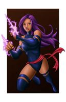 Psylocke - Week 16 by braddarcy