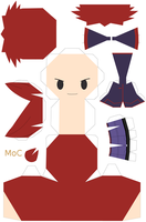 Papercraft Silver Template by MountainOfCookies