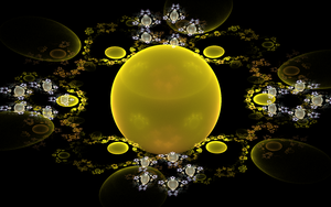 yellow and white balls by Andrea1981G