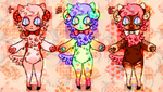 Valentine Meweep adopts by MoggieDelight