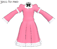 MMD- Simple Dress -DOWNLOAD by MMDFakewings18