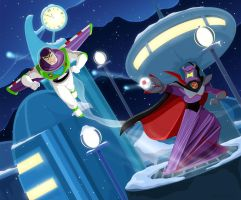 Buzz VS Zurg by Zimeta
