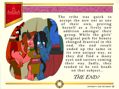Another Princess Story - Happy Oni Ending by Dragon-FangX