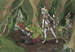 Jungle Expedition -Commission- by Ailoncha