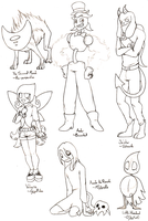 Character Design Challenge Prizes (4) by Anko6