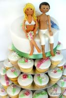 Wedding Summer Cupcakes by Verusca