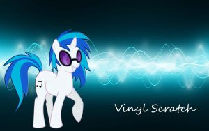 Vinyl Scratch by TryHardBrony