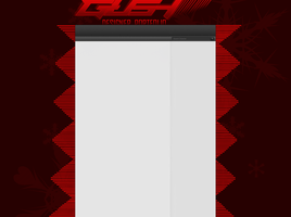 GUSH 2d youtube background red by Al2r