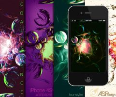 Coalescence iPhone Wallpaper by Snakesan