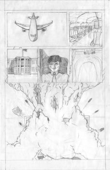 Remus Page 1 Pencils 3rd Draft by FrustratedRocka