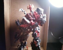 Bionicle Moive Shockwave by EmoKnight096