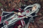 JX3 online cosplay white hair by icuno