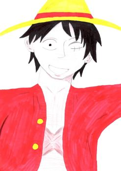 Smile Luffy~ by ServampAi