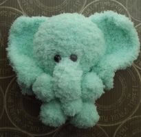 Elephant amigurumi, take two. by Amigurumi-Lover