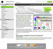 Inkscape Website Entry by daj