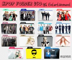 KPOP Folder Icons - YG Ent (Pack) by vaguevashti
