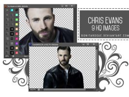 PACK PNG 19 // CHRIS EVANS by Bonitarogue