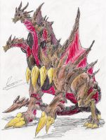 Desghidorah by hewhowalksdeath