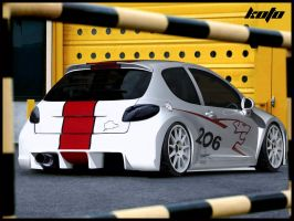 Peugeot 206 HDi by koto8