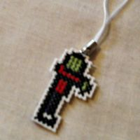 Zombie Cell/Purse Charms by agorby00