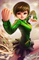 Chie Satonaka by LeadApprentice