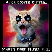 Alice Cooper Kitteh by HardHeartedRedRabbit